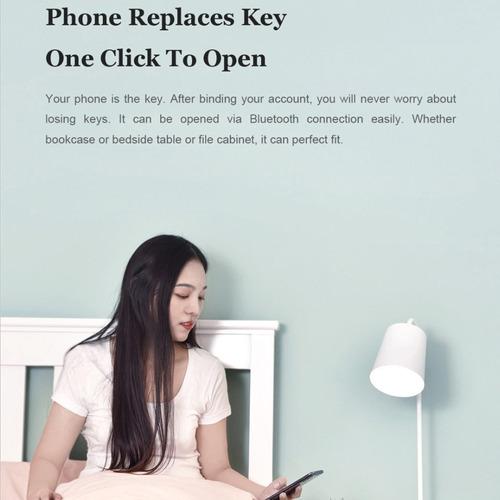 xiao-mi yeelock inteligente bloqueio de gaveta app bt desblo