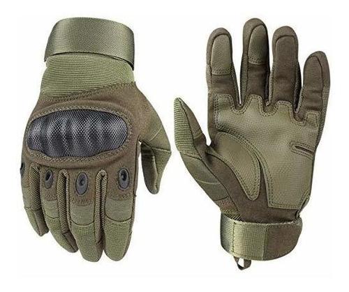 xiaoai guantes tácticos, ejército militar caucho nudillo dur