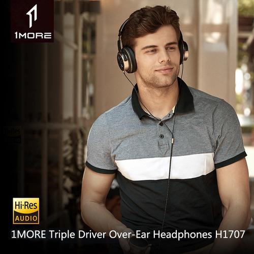 xiaomi 1more auriculares triples sobre oído 3.5mm con
