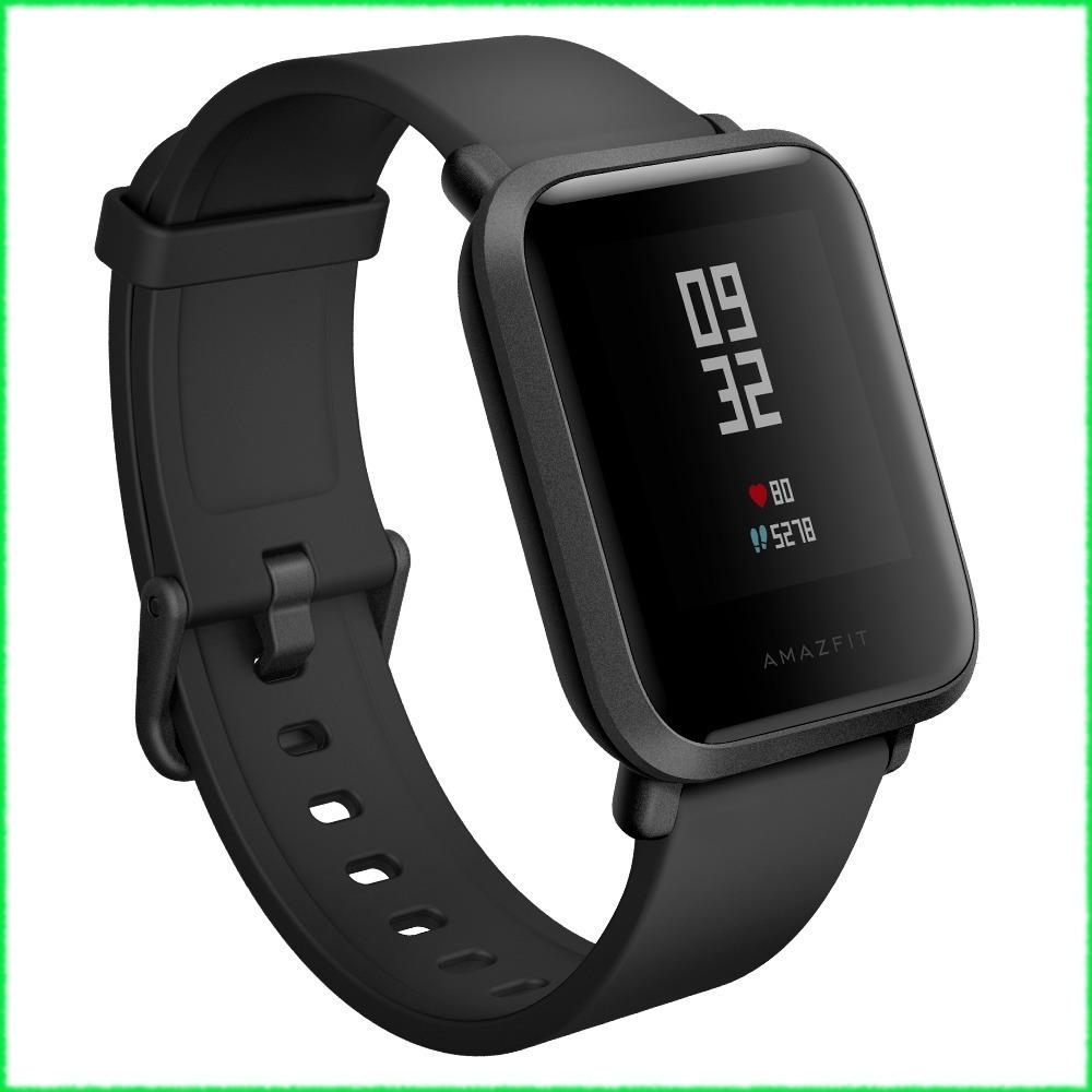 284ca9ad9f2 xiaomi amazfit bip relógio inteligente ñ apple watch - preto. Carregando  zoom.