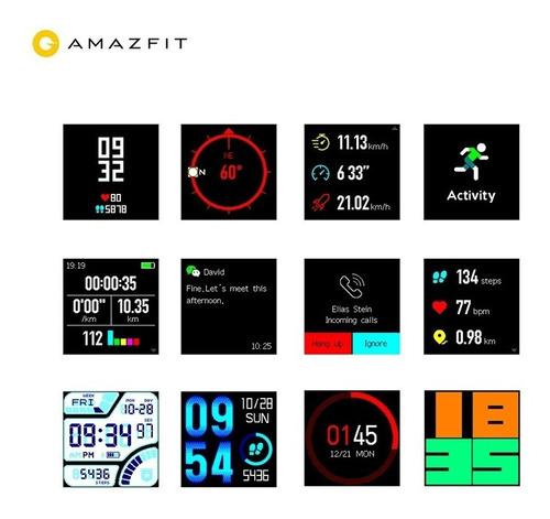 xiaomi amazfit bip smartwatch gps + film gtia caja sellada