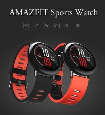 xiaomi amazfit pace ingles monitor cardiaco + pelicula 12x