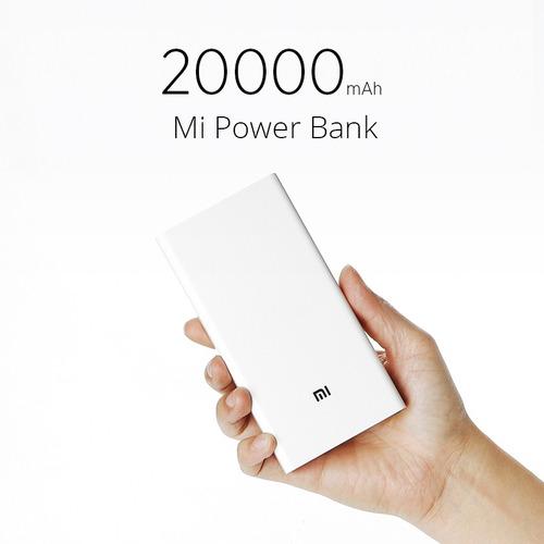 xiaomi cargador portatil power bank 2c 20000mah carga rapida