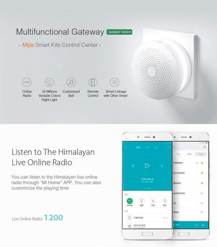 xiaomi gateway kit 7 peças mijia sensores smart home lacrado