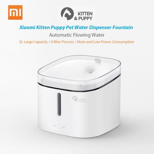 xiaomi gatito cachorro pet dispensador de agua fuente gato