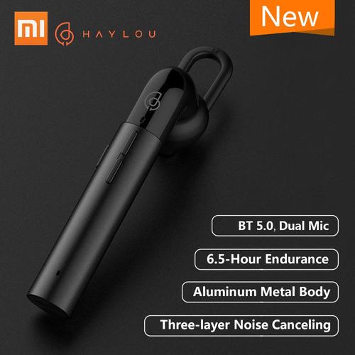 xiaomi haylou bt business earphone l1 con micrfono dual