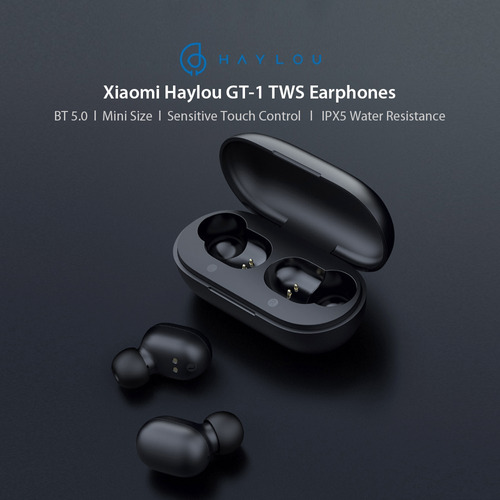 xiaomi haylou gt1 mini tws auricular sin hilos control tocar