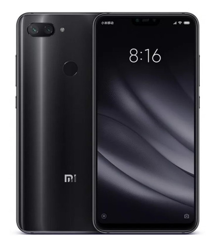 xiaomi mi 8 lite 4/64gb 6 24mp libre dual sim funda full