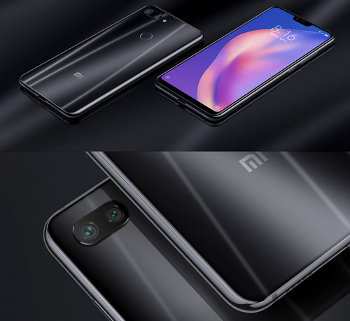 xiaomi mi 8 lite 64gb versao global black 4 gb ram + capinha