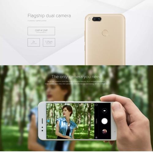 xiaomi mi a1, 4gb+64gb, version global