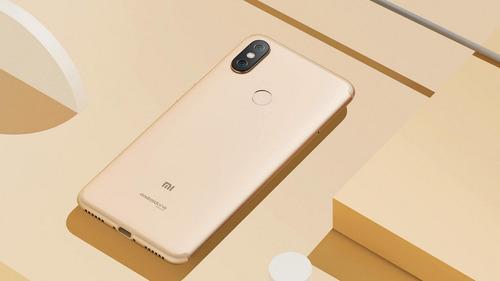 xiaomi mi a2 64gb+4gb android one+ vidrio +funda+ snap 660