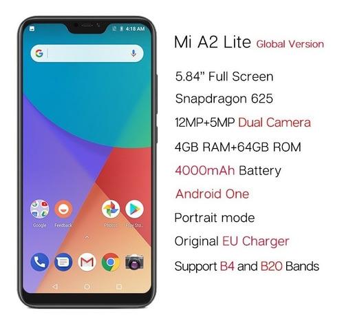 xiaomi mi a2 lite 3gb 32gb android one dual cámara 12mpx
