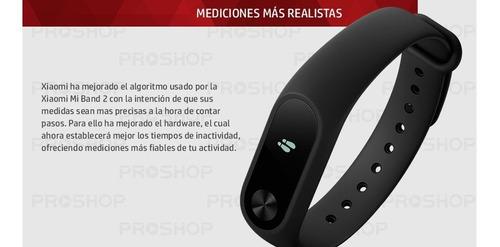 xiaomi mi band 2  pulsera smart de xiaomi monitor cardiaco