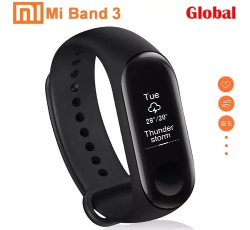 xiaomi mi band 3 global português lacrada + pelicula gel