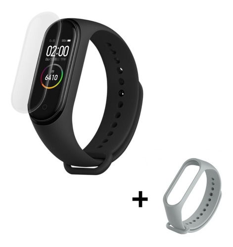 xiaomi mi band 4 smartwatch reloj version global español + film protector + malla adicional