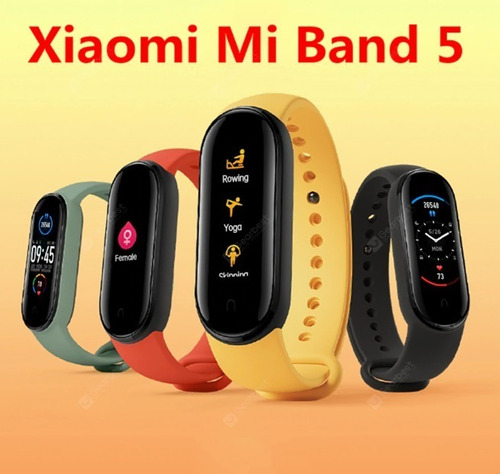 xiaomi mi band 5 smartwatch, 100% original