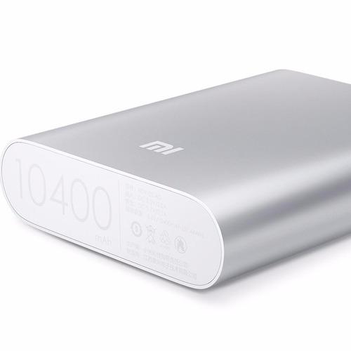 xiaomi mi bank 10000mah batería externa, plata - barulu