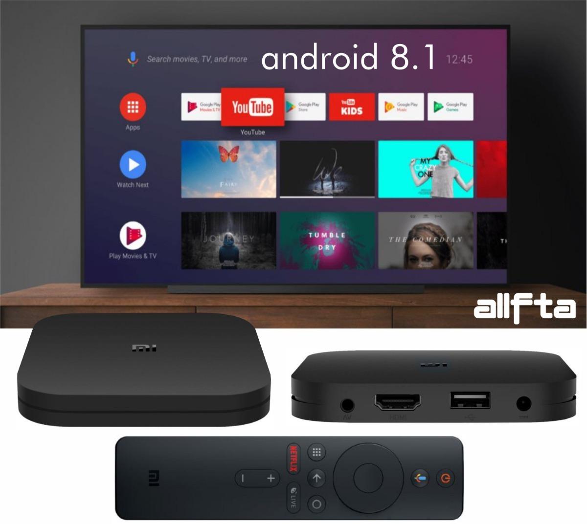 Xiaomi Mi Box S 4k Google Assistant Android Tv 8 1