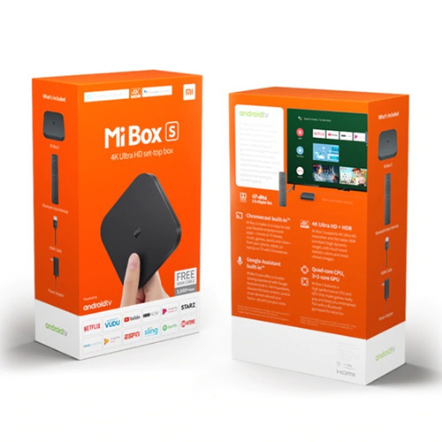 xiaomi mi box s 4k - gsmpro