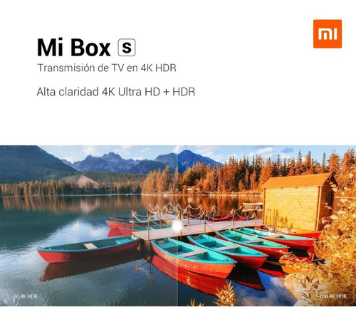 xiaomi mi box s android tv box youtube netflix movistar