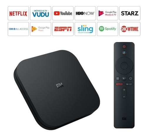 xiaomi mi box s android tv chromecast movistar play hbo go