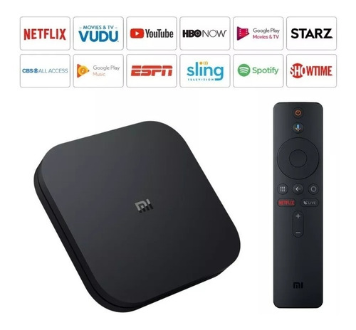 xiaomi mi box s android tv versión internacional 2018