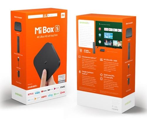 xiaomi mi box s tv 4k version global 2gb/8gb v 2019