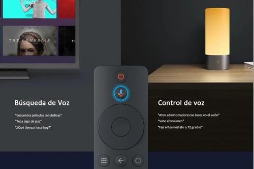 xiaomi mi box s youtube netflix 4k chromcast control voz