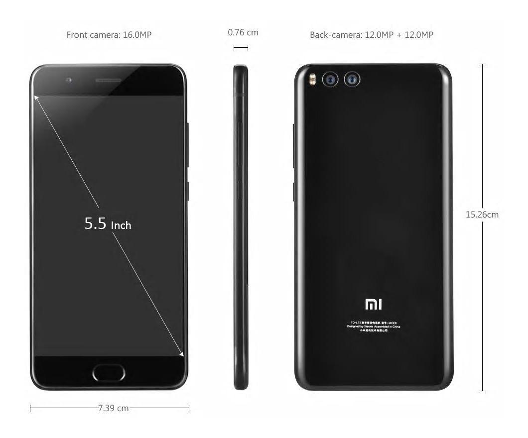 Xiaomi Mi Note 3 128gb 6gb Tela 5 5 Brindes Pronta Entrega