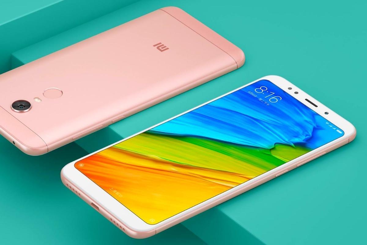 Xiaomi Redmi 5 Plus Wallpapers: Xiaomi Mi Redmi 5 Plus 4gb 64gb Azul Dourado Preto