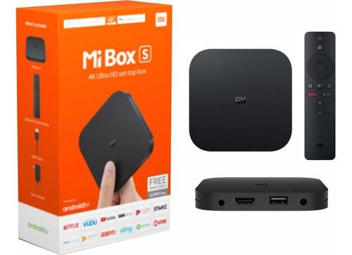 xiaomi mi tv box s 4k android tv caja sellada original envio