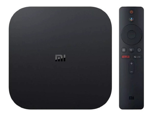 xiaomi mi tv box s 4k android tv convertidor smart tv