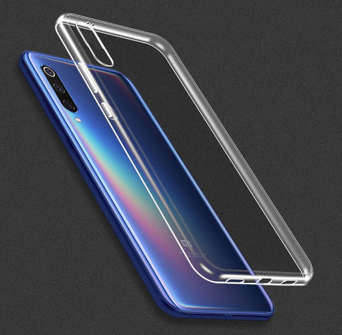 xiaomi mi9 carcasa tpu silicona transparente - zetta store