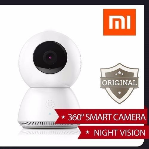 xiaomi mijia câmera 1080p fhd noite 360 graus pronta entrega