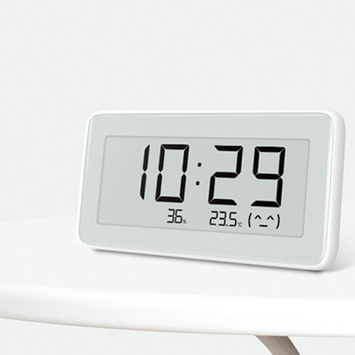 xiaomi mijia reloj de mesa temperatura humedad