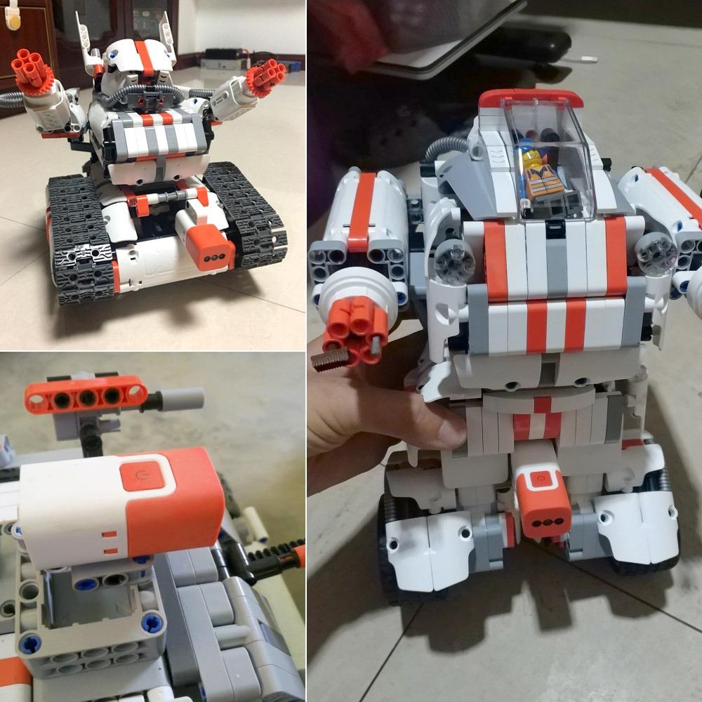 Xiaomi Mitu Building Block Robot Toy Set Con Color Sensor 72516 F