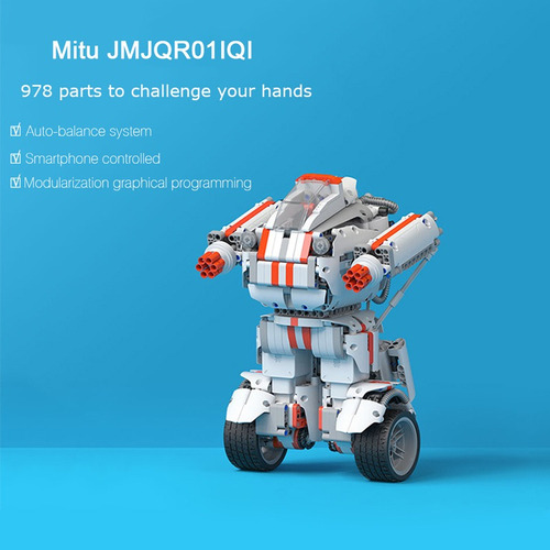 xiaomi mitu diy mobile phone control self-assemble robot for