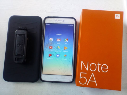 xiaomi note 5a 2gb ram 16gb detalle en glass,