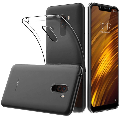 xiaomi pocophone f1 video 4k! 128gb + vidrio + dual ram 6gb