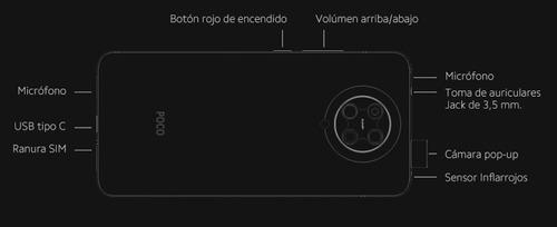 xiaomi pocophone poco f2 pro 128gb 6gb ram + aud aiwa i50