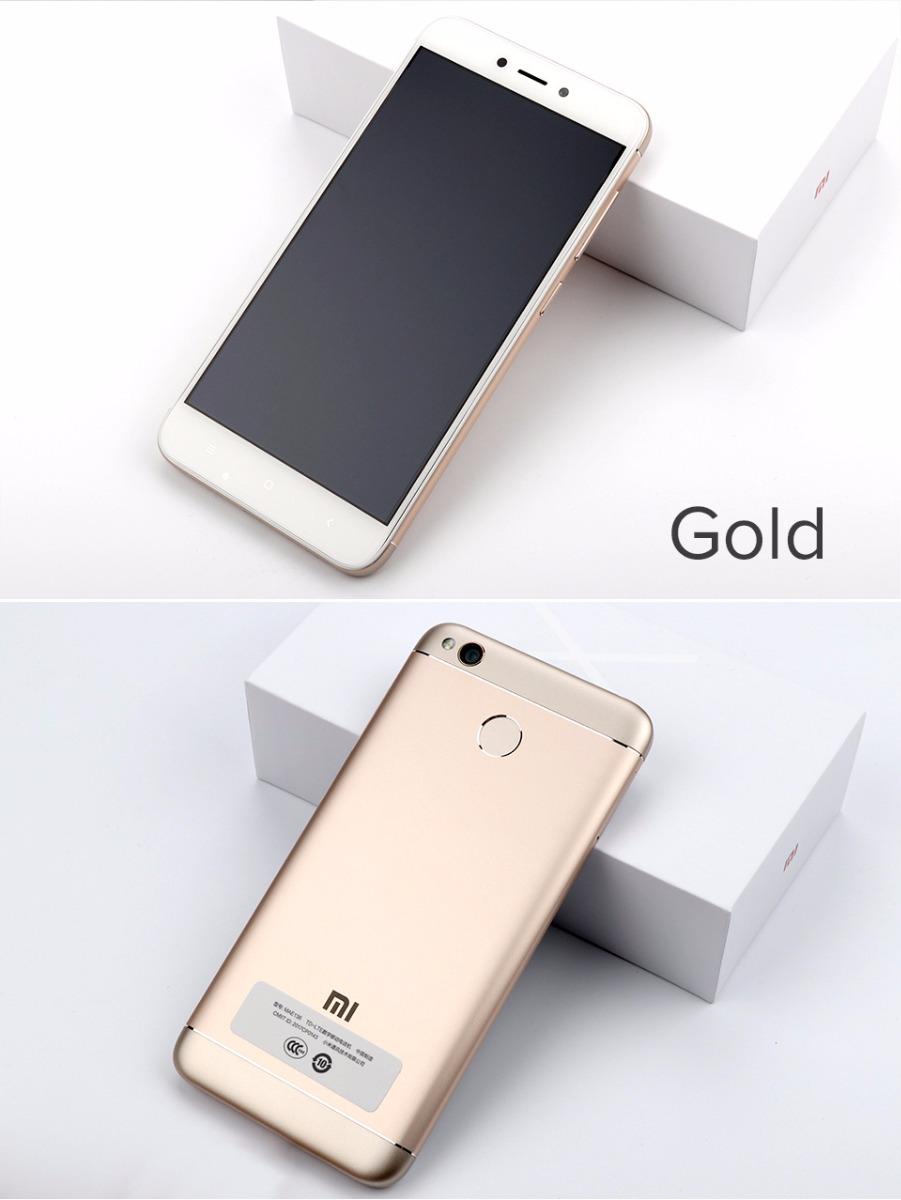 Xiaomi Redmi 4x 16gb Ram 2gb 8 Ncleos 4100mah Lector Huella S Gold Cargando Zoom