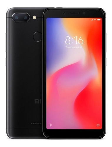 xiaomi redmi 6 32gb+3ram global lte 5.4p 12+5mpx single sim