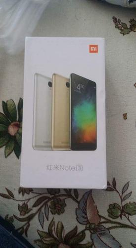 xiaomi redmi note 3 pro nuevo 3+32gb micro sd 64gb y funda