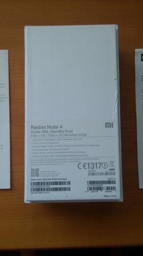 xiaomi redmi note 4 4gb de ram y 64 de rom pequeño detalle