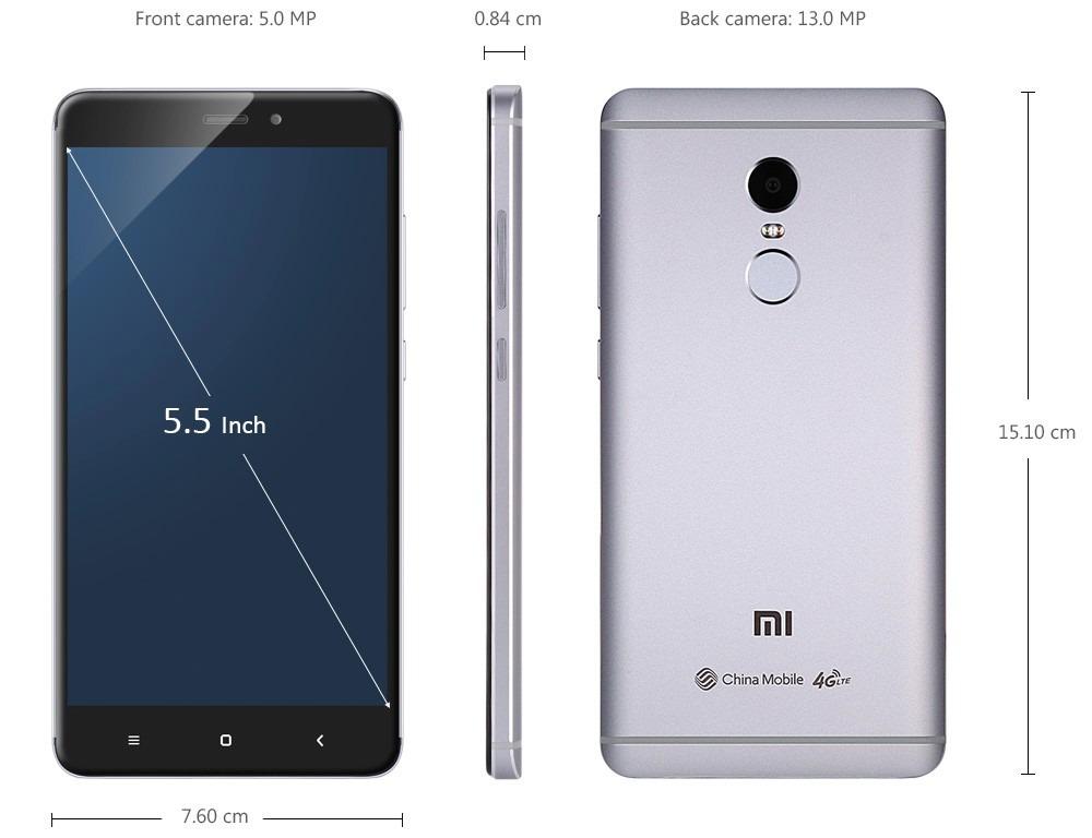 Xiaomi Redmi Note 4 Pro 64gb 10core13mp 3gb Env 237 Ohoy