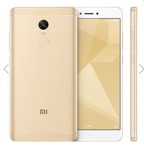 xiaomi redmi note 4x 5.5 ram 32g smartphone 4g color: dorado