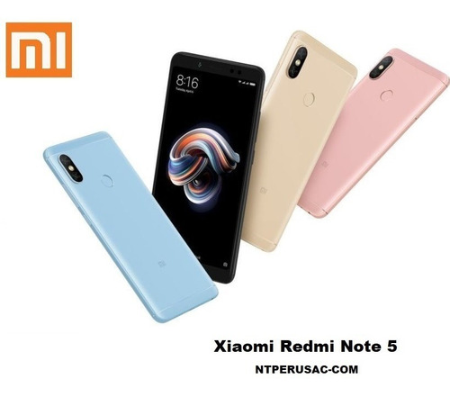 xiaomi redmi note 5 global 64gb stock tienda factura
