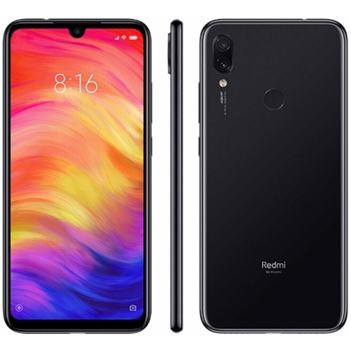 xiaomi redmi note 7 64gb rom 4gb ram 48 + 5 mp 6.3 pulg