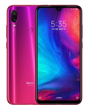 Xiaomi Redmi Note 7 Global 4 64gb Rojo Nebula