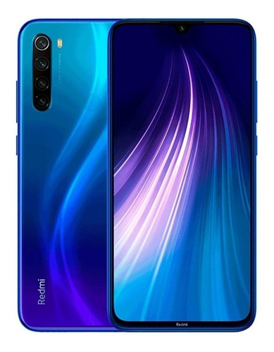 xiaomi redmi note 8 128gb + 4gb ram - versão global